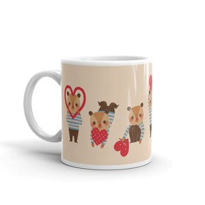 Bear in Love Coffee Mug