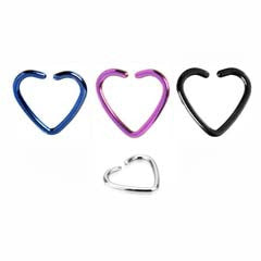 Surgical Steel Daith /Tragus / Helix / Cartilage Heart