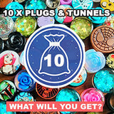 Mystery Bag of Plugs x 10 (pack of 10 plugs)
