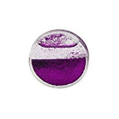 Liquid Glitter Snow Globe -  Purple