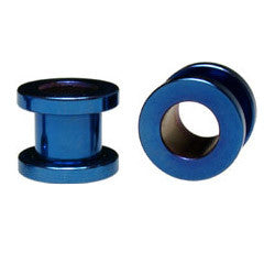 Steel Round Tunnel - Blue