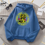 Cobra Kai Fashion Sweat Printing Men's Hoody Oversize Loose Sweatshirts Autumn Fleece Hoodies Fashion Casual Clothing Men New