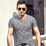 2020 Summer New Camouflage Men 's T- Shirt Short Sleeve Base Shirt Casual Shirts Breathable