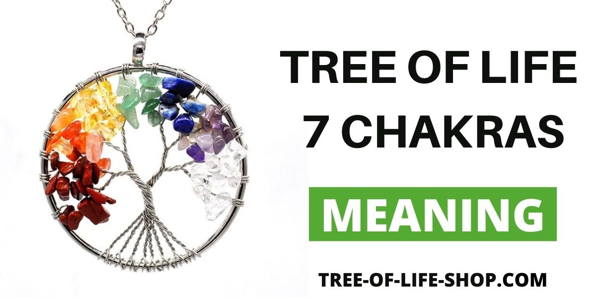 Tree of life 7 Chakras Meaning