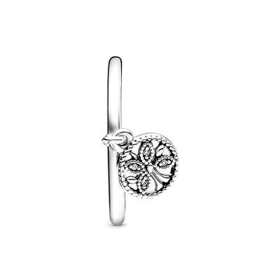 Women Charm Tree of Life Ring