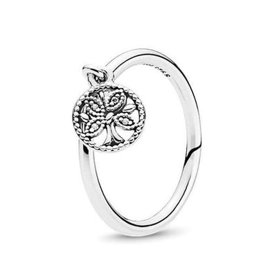 Charm Tree of Life Ring