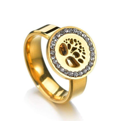 Gold Medal Tree of Life Ring