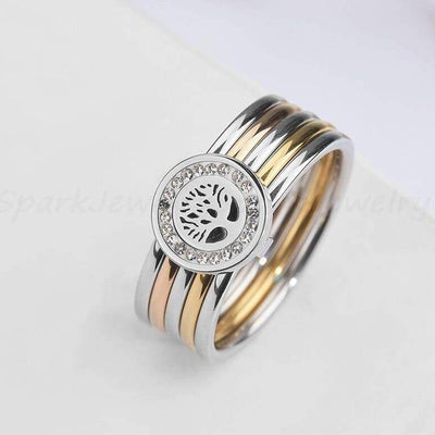 elegant Tree of Life Ring