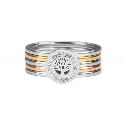 Women's Luxury Tree of Life Ring