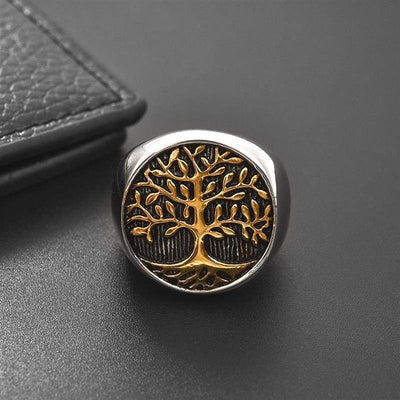 Tree of Life Ring for mens
