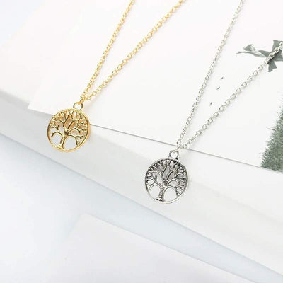 Stainless steel Tree of Life Necklace