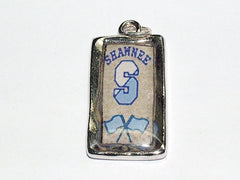 Shawnee High School Marching Band Color Guard Pendant- Flags