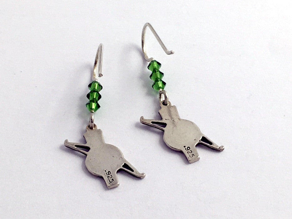 Archery Jewelry Bow and Arrow Jewelry Infinity Collection Archery Dangle Earrings
