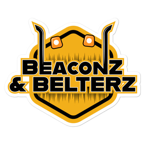 Beaconz and Belterz Sticker