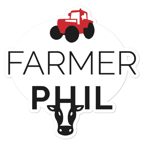 Farmer Phil Sticker