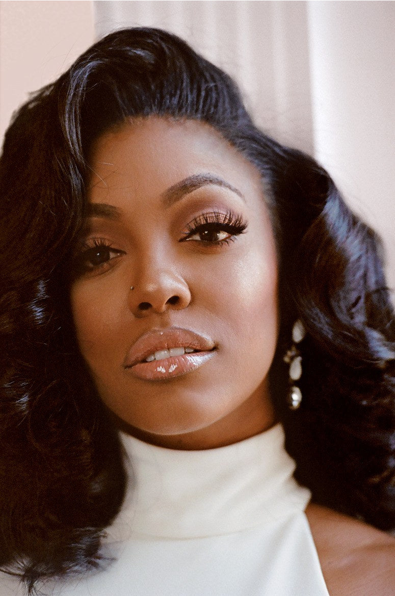 Porsha Williams Sultry Curls