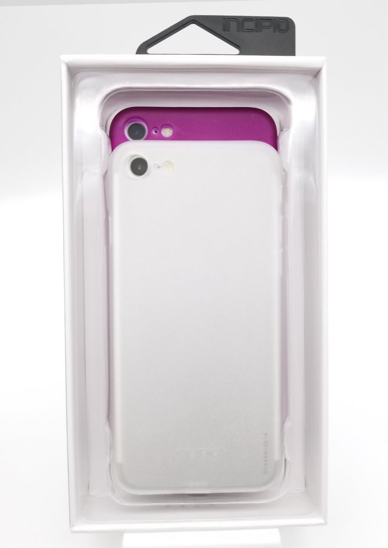 Incipio Feather Light Thin Cases (2 Cases) 7/8/SE Case - Clear and Pink