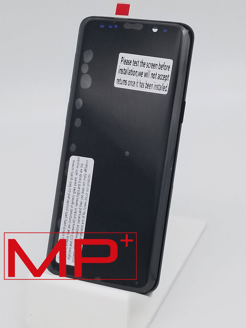 Samsung S9 Replacement LCD with Frame - Black