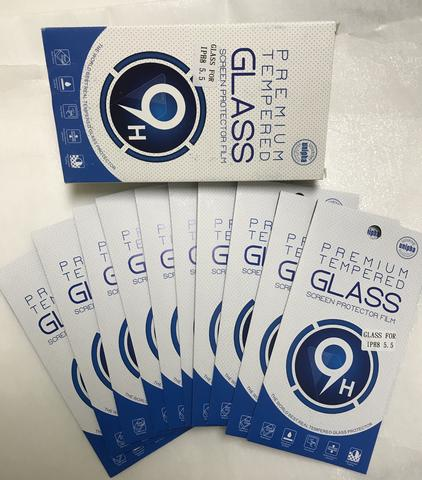 9H Premium Tempered Glass for iPhone - All Models (Pack of 10)