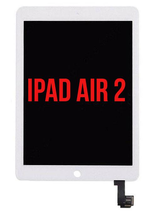 iPad Air 2 Full Assembly LCD White - Premium Quality