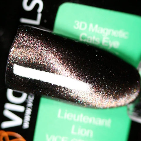 Vice Nails - VICE-CE3D-004 - Lieutenant Lion