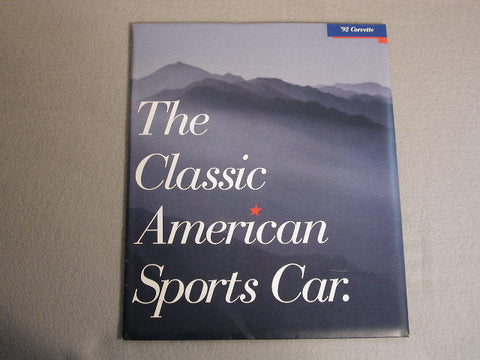 1992 GM-NOS Dealer Brochure Limited Quantity / Product Number: B116