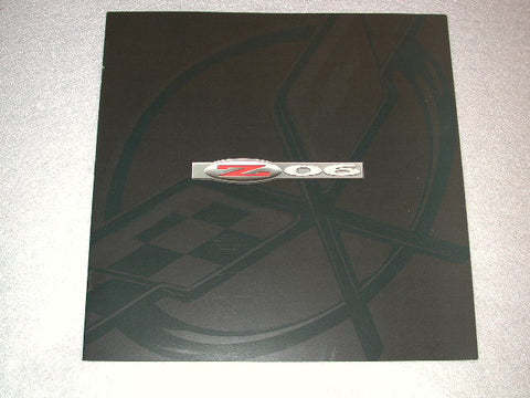 2001 GM-NOS Mini Dealer Brochure Z06 Limited Quantity / Product Number: B126