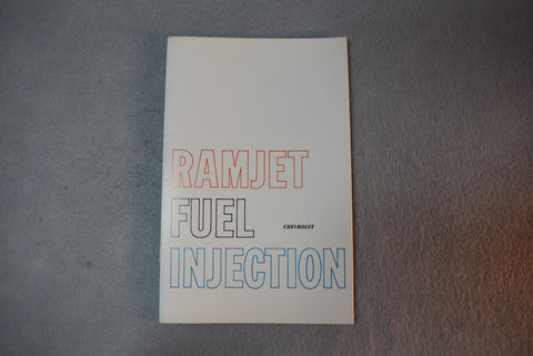 GM Corvette 1957 Owners Manual 250 HP Fuel Injections  / Product Number: DOM101