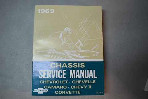 1969 GM Chevrolet Chassis Service Manual  / Product Number: DSM102