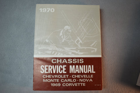 1970 GM Chevrolet Chassis Service Manual  / Product Number: DSM103