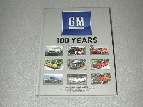 GM 100 YEARS / Product Number: B102