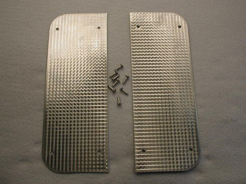 GM-Restoartion Filler Plates Pair 56-60 / Product Number: IN189