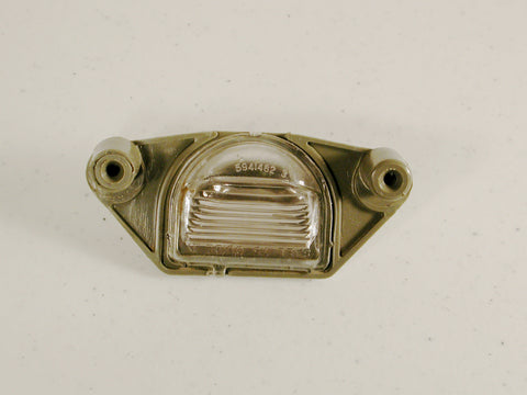 Rear License Plate Lens GM-NOS 75-82 / Product Number: LM130