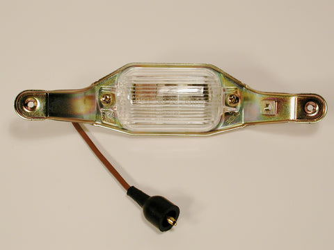 GM Restoration License Lamp Assembly W/Fiber Optic 68-71 / Product Number: LM161
