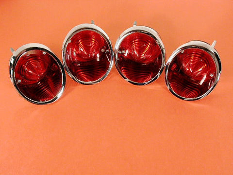 GM-Restoration  R/L Inner & Outer Tail Lamp ASM. Set 63-67 / Product Number: LM163