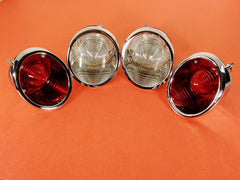 GM-Restoration Tail Lamp ASM SET 2-Each Outboard & Inboard B/U 64-66 / Product Number: LM164