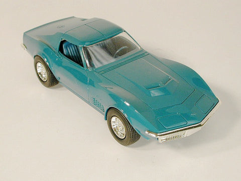 GM Corvette Promo Model - LT-1 Mulsanne Blue 70 / Product Number: PM104