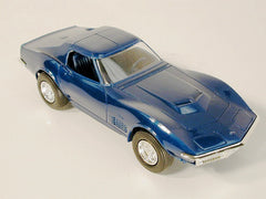 GM  Corvette Promo Model - Coupe Blue 70 / Product Number: PM106