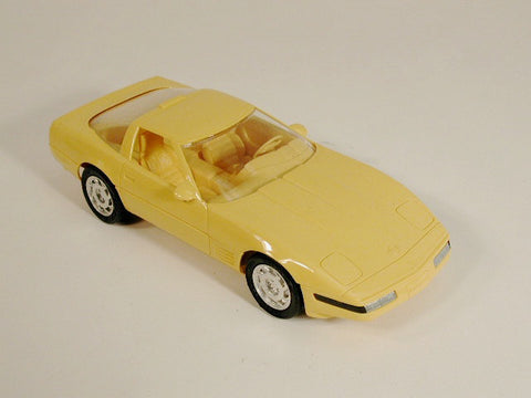 GM Corvette Promo Model - ZR-1 Yellow 92 / Product Number: PM111