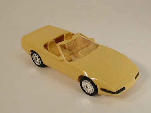 GM Corvette Promo Model - Convertible Yellow 95 / Product Number: PM116