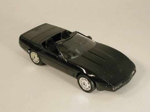 GM Corvette Promo Model - Convertible Black 95 / Product Number: PM117