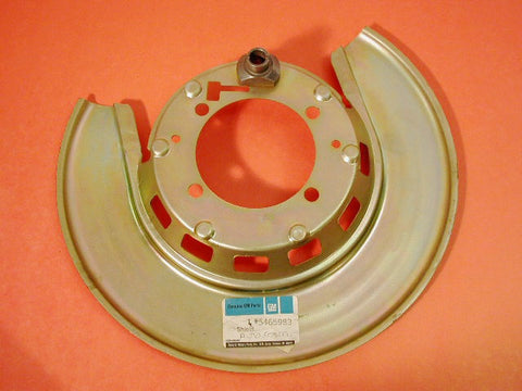 NOS RR BK Plate GM RH 76-82 / Product Number: RS107R