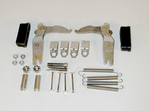 Rear Parking Brake Stainless Steel Hardware Car Set 84-87 / Product Number: RS258