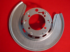 65-76 GM Reconditioned RR Brake Shield W/Delco Stamp Left / Product Number: RS312UL