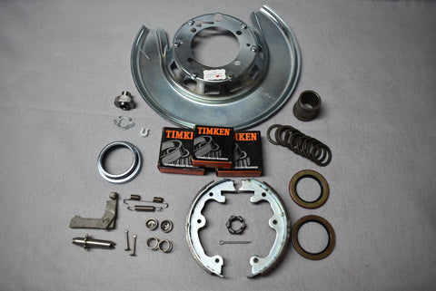 Right Rear Bearing Assembly & Parking Brake Rebuild Kit 65-75 / Product Number: RS336R