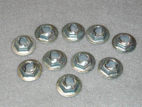 Thread Cutting Nut 1/4 Stud Size 10pcs Kit / Product Number: SP127
