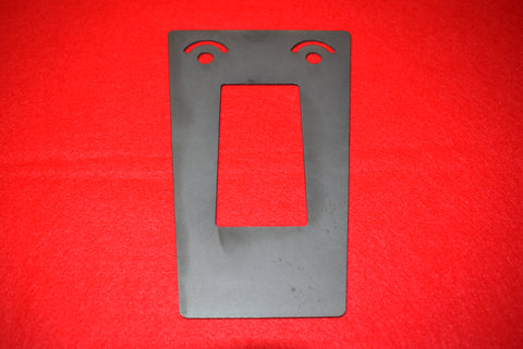1963 - 1967 Radio Dash Cut Out Template / Product Number: T130