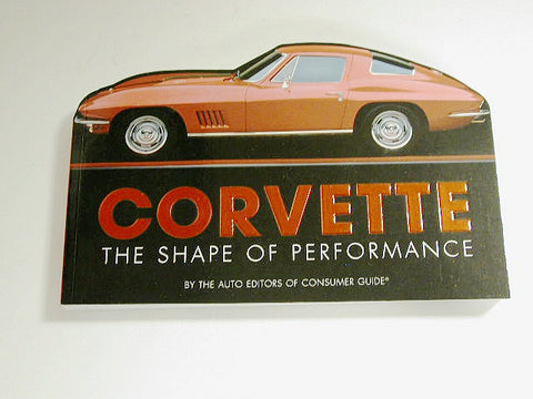 "Corvette ""The Shape of Performance"" / Product Number: B101"
