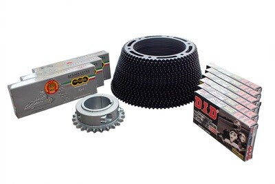 Go Kart Chains, Sprockets & Chain Guards
