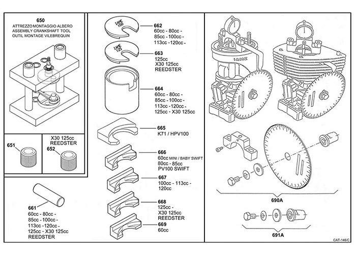 IAME Swift 60cc Engine Assembly & Timing